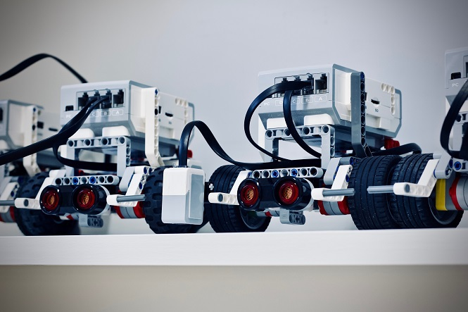 Crown Logistics Robots in play