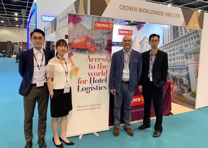 Crown Logistics exhibits at HOFEX 2019