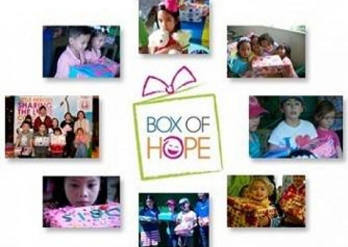 Supporting Box of Hope