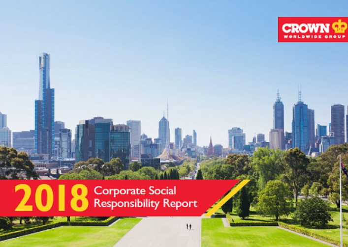 Crown Worldwide Group publishes 2018 Corporate Social Responsibility report