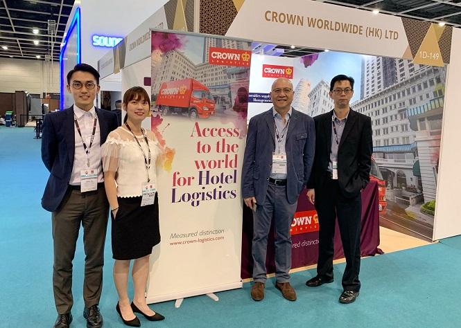 Crown Logistics exhibits for the first time in HOFEX 2019